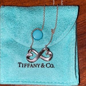 Tiffany & Co. infinity heart necklace